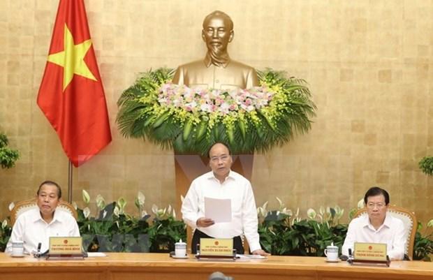 阮春福:前五月越南经济社会发展基本面是好的 hinh anh 1