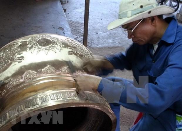 一名英国籍人士向承天顺化省援助2.5万欧元用于发展传统手工艺品 hinh anh 1