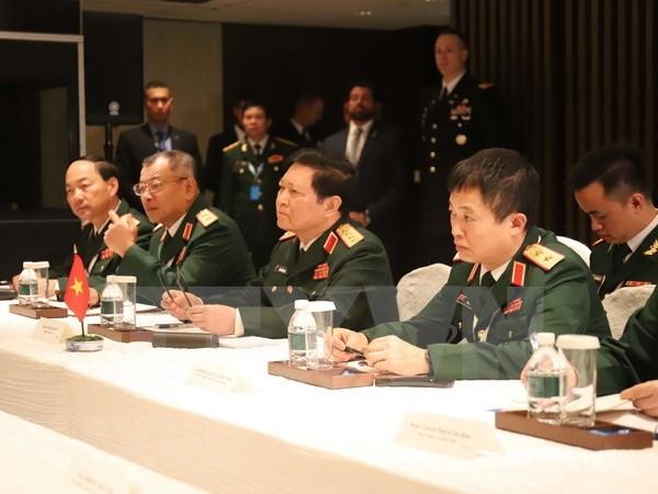 越南国防部长在2018年香格里拉对话会发表讲话 hinh anh 1