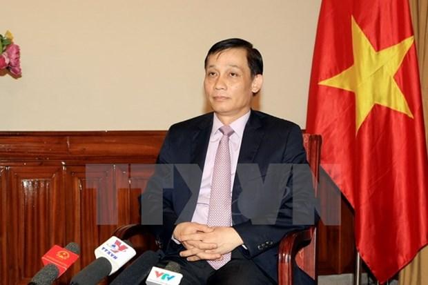 越南外交部副部长黎淮忠:开启越日关系发展新时代 hinh anh 1