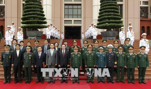 韩国国防部长宋永武对越南进行正式访问 hinh anh 3