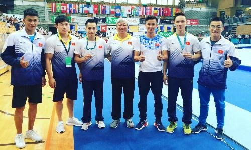 越南在2018年体操世界挑战杯夺两金 hinh anh 1