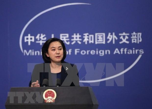 中国承诺与东盟深化政治安全、经济、社会人文三大支柱领域合作 hinh anh 1