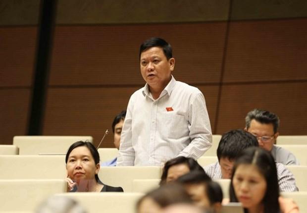 越南第十四届国会第五次会议:质询和答复质询活动质量日益提高 hinh anh 1