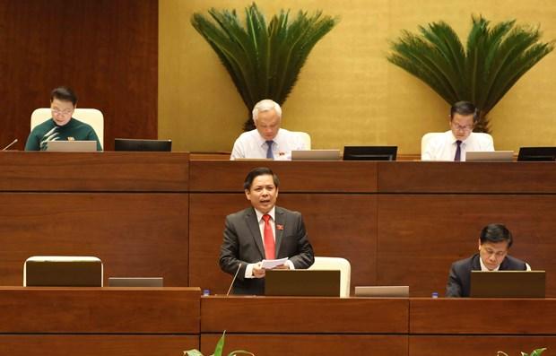 第十四届国会第五次会议:已到推动铁路行业发展的时候了 hinh anh 2