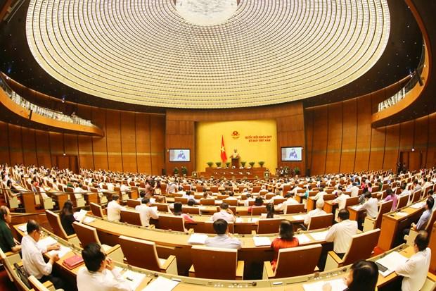 第十四届国会第五次会议:已到推动铁路行业发展的时候了 hinh anh 1