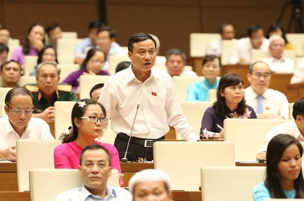 越南第14届国会第5次会议:阮氏金银要求有效合法使用基础设施投资专项资金 hinh anh 1