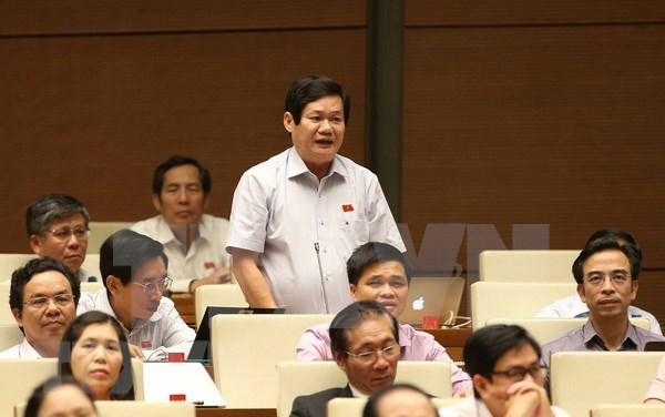 越南第十四届国会第五次会议:加强土地管理及监督检查工作 hinh anh 2