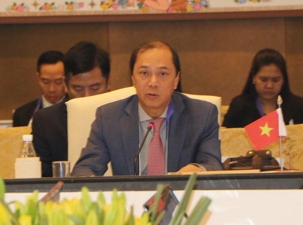 越南外交部副部长阮国勇出席东盟高官会 hinh anh 1