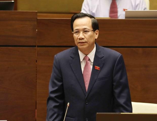 越南第十四届国会第五次会议:保障海外越南劳动者的权利 hinh anh 2