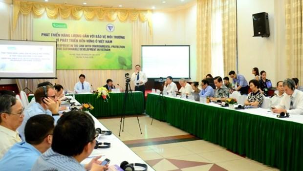 将发展能源与保护环境相结合 面向越南可持续发展 hinh anh 1