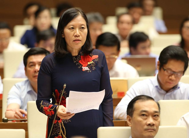 越南第十四届国会第五次会议:保障海外越南劳动者的权利 hinh anh 1