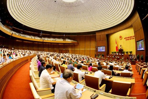 第十四届国会第五次会议:政府副总理王廷惠答复国会代表质询 hinh anh 1