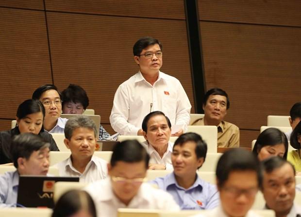 计划投资部长:确保国防安全是特别行政经济单位法制定工作中的基本原则 hinh anh 1