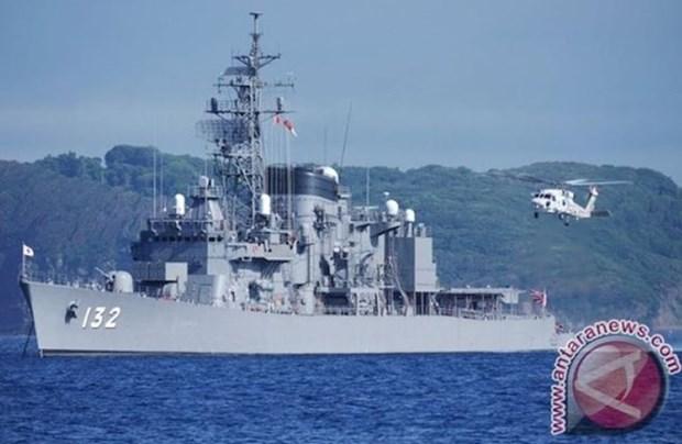 印度尼西亚海军加强与日本的合作关系 hinh anh 1