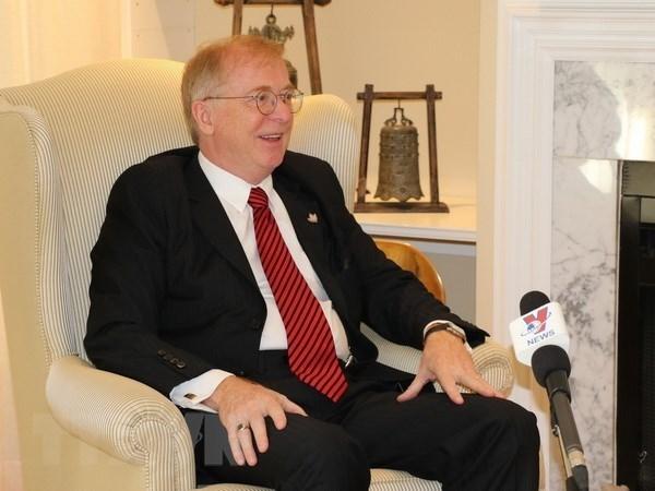 原加拿大驻越南大使迪瓦恩:两国关系取得突破性进展 hinh anh 1