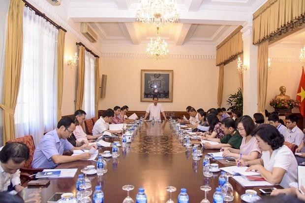 2018年世界经济论坛东盟峰会组委会第二次会议在河内召开 hinh anh 2
