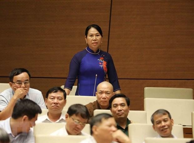 第十四届国会第五次会议:国会质询与答复质询活动确保了民主透明 hinh anh 1