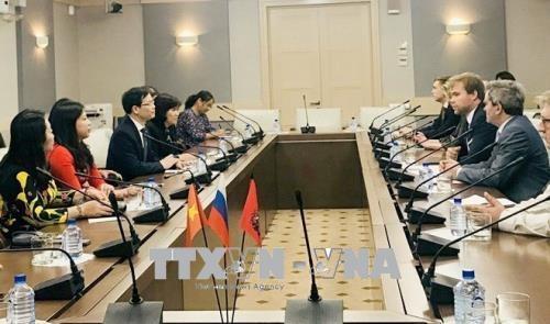 宣光省代表团对俄罗斯进行工作访问 hinh anh 1