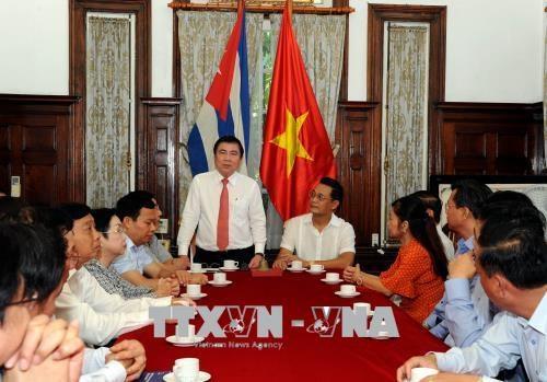古巴高度评价胡志明市的发展经验 hinh anh 2