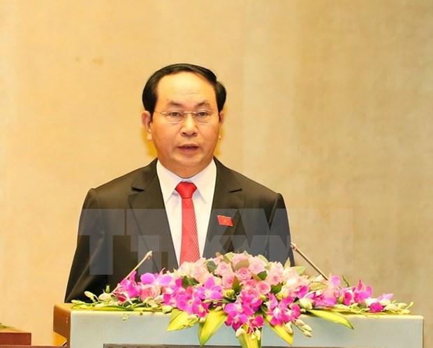 越南领导人致电祝贺瑞典国庆日 hinh anh 1