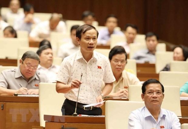 越南第十四届国会第五次会议:质询活动产生积极效应 hinh anh 1