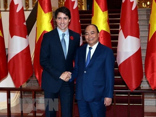 阮春福访问加拿大并出席G7峰会扩大会议:越加两国关系史上的新里程碑 hinh anh 1