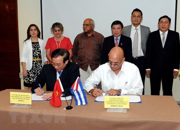 越古两国企业签署多项贸易合作协议 hinh anh 2