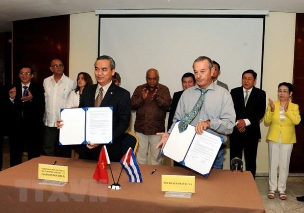 越古两国企业签署多项贸易合作协议 hinh anh 3