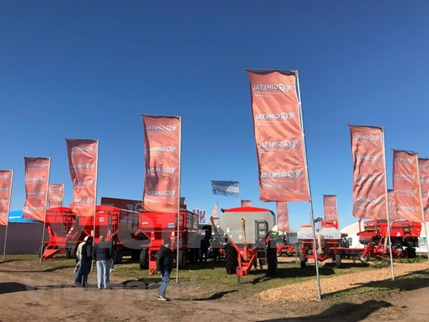 越南参加阿根廷最具规模的农业展览会 hinh anh 1