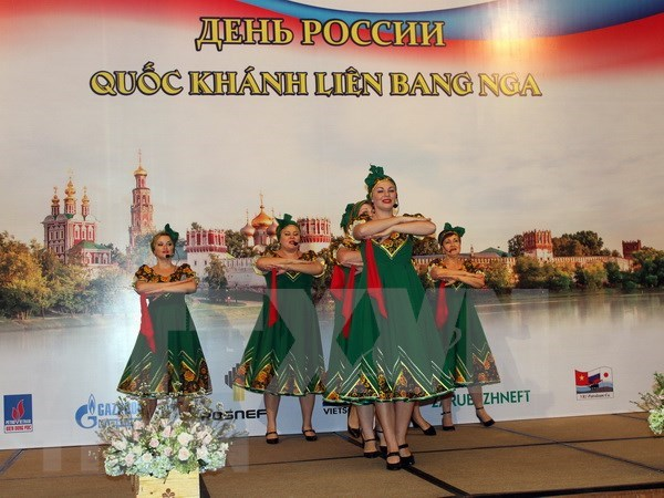 俄罗斯国庆节庆祝活动在胡志明市举行 hinh anh 1