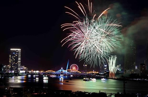 2018年岘港国际烟花节:渴望桥梁 hinh anh 1
