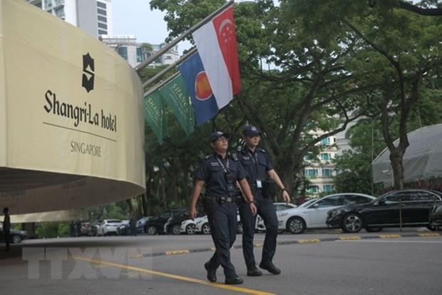 新加坡总理在美朝领导人会晤前夕会见美朝领导人 hinh anh 1