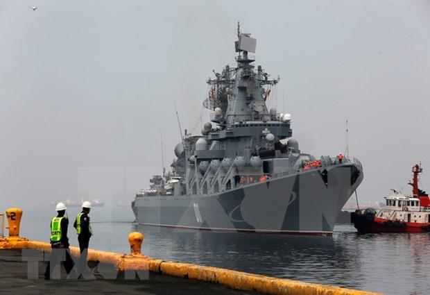 俄罗斯军舰访问菲律宾 hinh anh 1