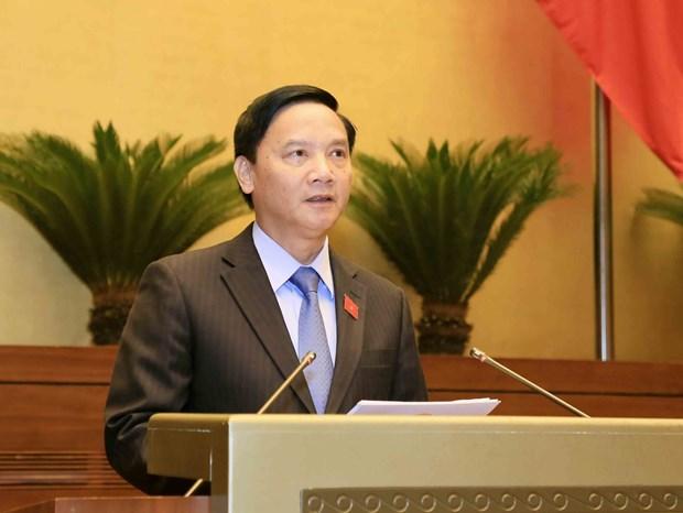国会表决通过推迟审议与通过《特别经济行政单位法草案》期限 hinh anh 2