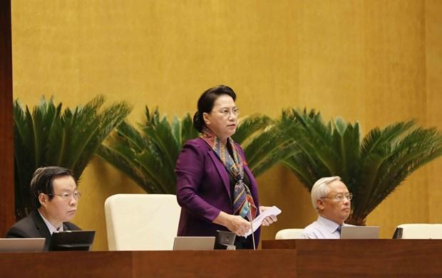 国会表决通过推迟审议与通过《特别经济行政单位法草案》期限 hinh anh 1