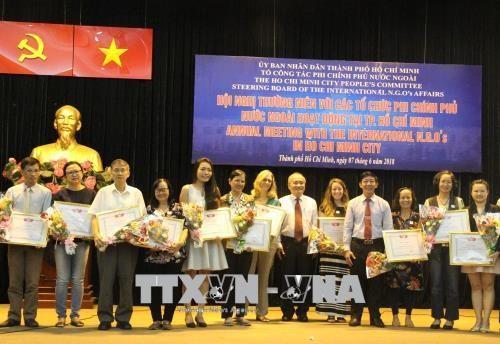 2018年前5月胡志明市接受外国非政府援助资金2720万美元 hinh anh 1