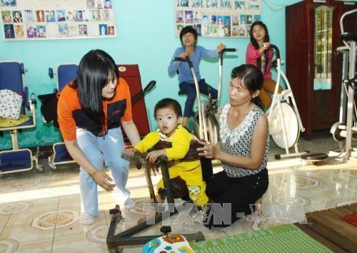 韩国继续援助广治省开展社会保障计划 hinh anh 1