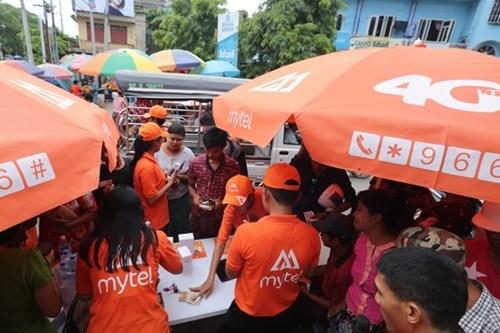 越南军队电信集团第十个国际移动网络在缅甸亮相 hinh anh 2