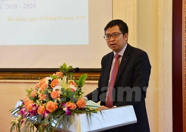 越南留学生青年团代表大会在京召开 hinh anh 2