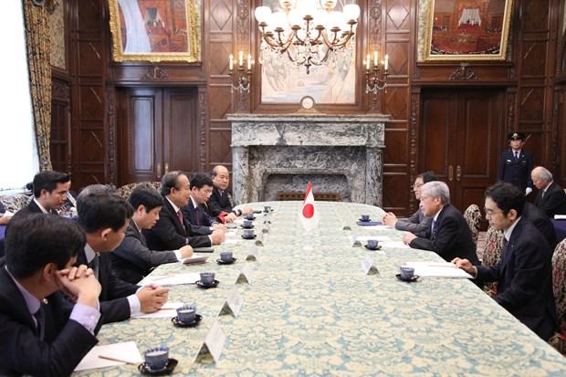 越南政府常务副总理张和平对日本进行工作访问 hinh anh 1
