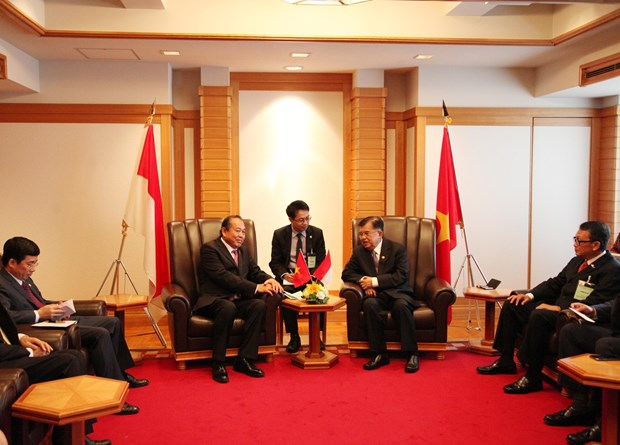 越南政府常务副总理张和平对日本进行工作访问 hinh anh 2