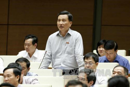 越南第十四届国会第五次会议:经济结构重组是提高产能的关键 hinh anh 1