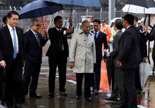 马来西亚总理对日本进行访问 hinh anh 1
