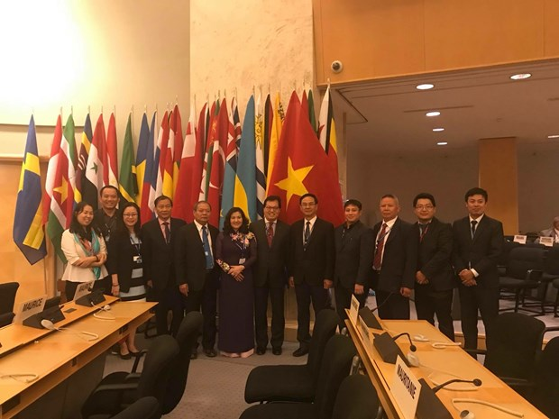 越南劳动总联合会代表团出席第107届国际劳工大会 hinh anh 1