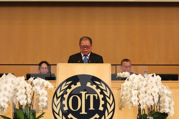 越南劳动总联合会代表团出席第107届国际劳工大会 hinh anh 2