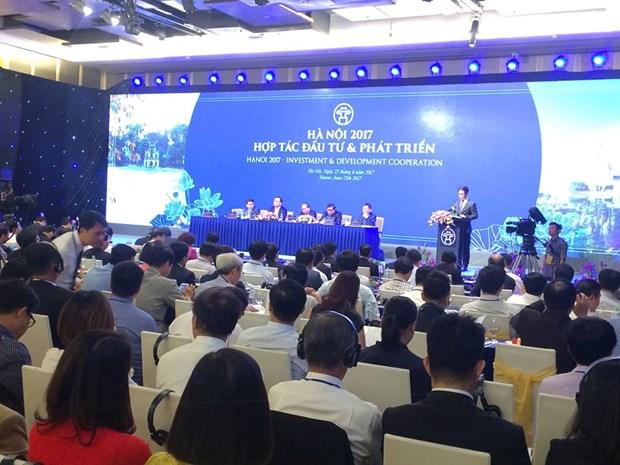 河内市投资合作促发展会议将吸引1500名代表参加 hinh anh 1