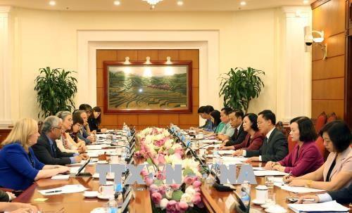 越南为实现性别平等目标作出巨大努力 hinh anh 1