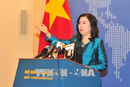 外交部发言人黎氏秋姮:在当前背景下制定《网络安全法》是必要的 hinh anh 1