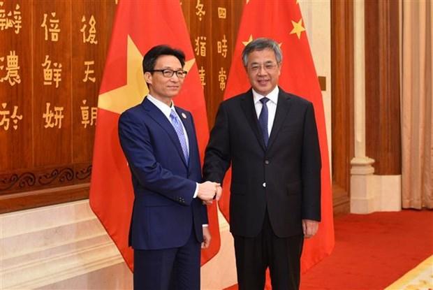 政府副总理武德儋出席第五届南博会和第25届昆交会开幕式 hinh anh 2